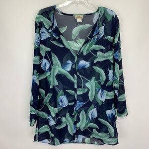 Tommy Bahama Swim Cover Up Tropical Print